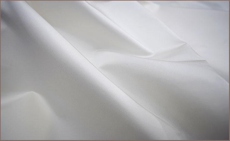 ウエディングドレス生地 シルク