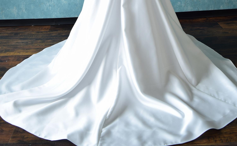 ハーモニーでウエディングドレス試作画像